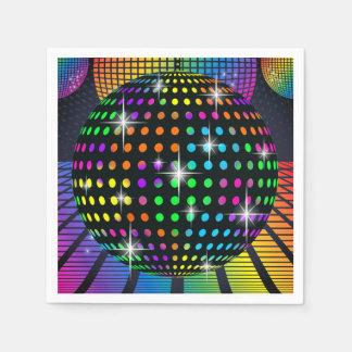Disco Party Napkin Disposable Napkins