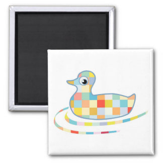 Disco Rubber Ducky Magnet