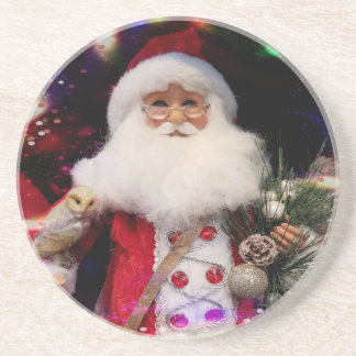 Disco Santa Drink Coaster
