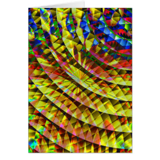 Disco Shine Psychedelic  Card
