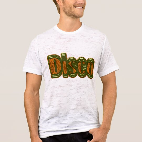Disco Shirt - Orange and Green