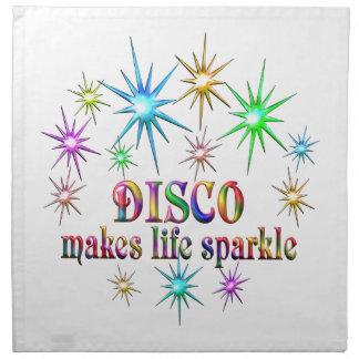 Disco Sparkles Napkin