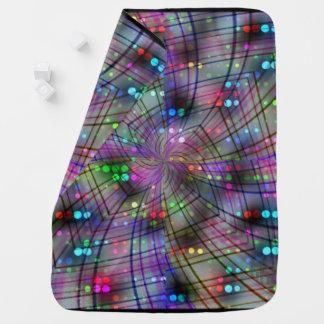Disco Spiral Baby Blanket