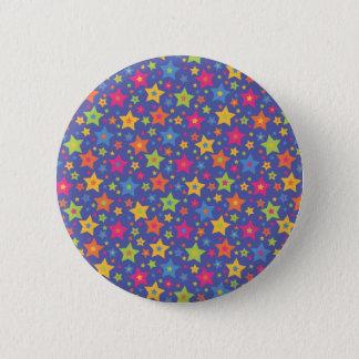 Disco Stars 2 Inch Round Button