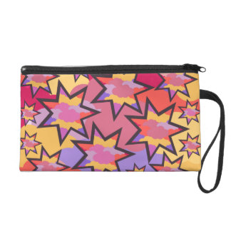 Disco stars and clouds wristlets