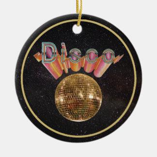 Disco the Night Away Ceramic Ornament