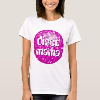 Disco Tiles Pink 'disco mama' Hane's Nano T-Shirt