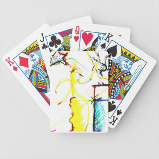 Disco W \ A Crazy Bicycle Playing Cards