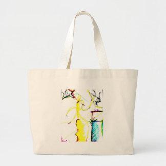 Disco W \ A Crazy Large Tote Bag