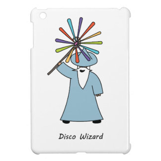 Disco Wizard t-shirt. Cover For The iPad Mini