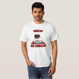 """Disco """"workin chemise du Merkin"""" T-shirt"""
