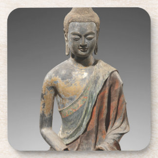 Discolored Buddha Sculpture - Tang dynasty (618) Coaster