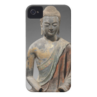 Discolored Buddha Sculpture - Tang dynasty (618) iPhone 4 Case-Mate Cases