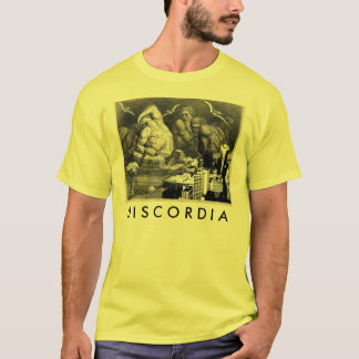 Discordia yellow t-shirt