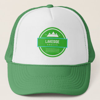 Discover Lakeside Oregon Trucker Hat