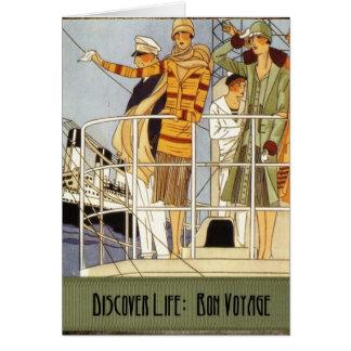 Discover Life:  Bon Voyage Card
