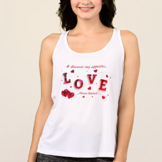 Discover my appetite.. tank top