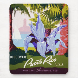 Discover Puerto Rico Mouse Pad