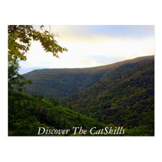 Discover the Catskills Postcard