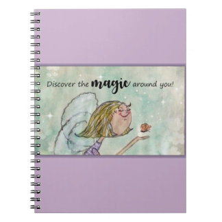Discover the magic around you. notebook
