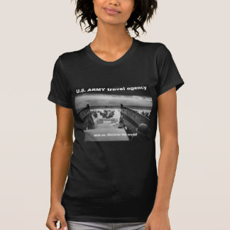discover the world with army T-Shirt