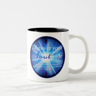 Discover Your Soulitude Two-Tone Coffee Mug