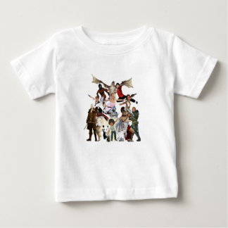 Discovering New Worlds Through Reading Baby T-Shirt