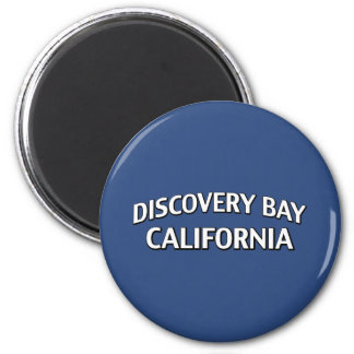Discovery Bay California 2 Inch Round Magnet