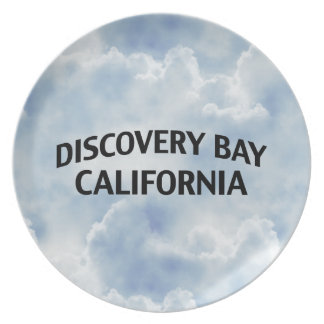 Discovery Bay California Dinner Plate