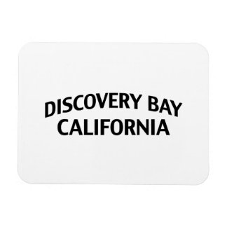 Discovery Bay California Rectangular Photo Magnet