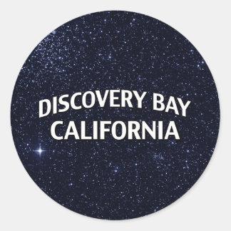 Discovery Bay California Round Sticker