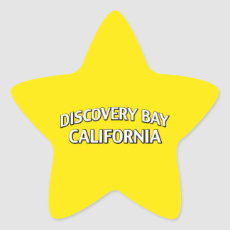 Discovery Bay California Star Sticker