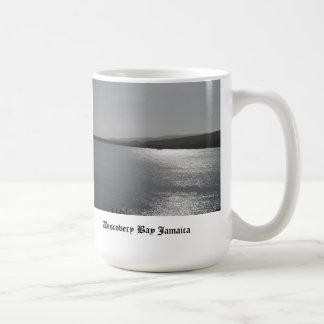 Discovery Bay Jamaica Basic White Mug