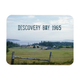 Discovery Bay Rectangular Photo Magnet