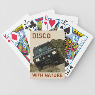 DISCOVERY - DISCO WITH NATURE BICYCLE PLAYING CARDS