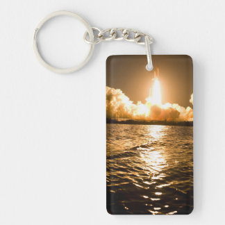 Discovery Lift Off Double-Sided Rectangular Acrylic Keychain