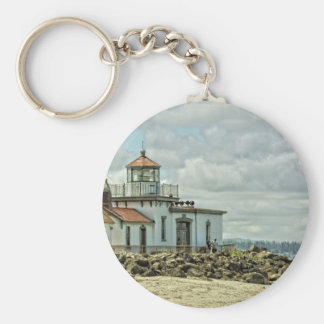 Discovery Park Light House Keychain