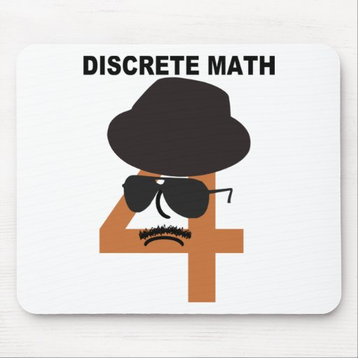 Discrete Math Mouse Pads