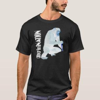 """discrimiNATION """"Chimp"""" (dark shirt) T-Shirt"""