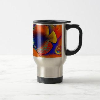 Discuremia V1 - abstract digital artwork Travel Mug