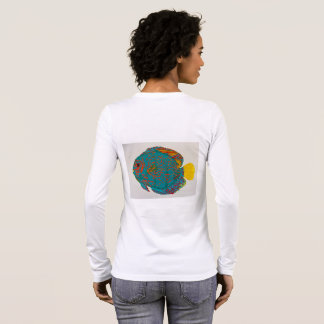 Discus fish tee shirt