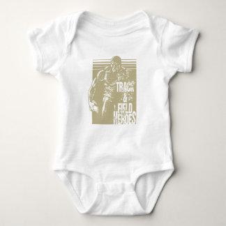 discus hero baby bodysuit