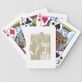 discus hero bicycle playing cards