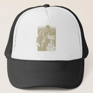 discus hero trucker hat
