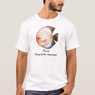 """Discus""""King of the Aquarium"""" T-Shirt"""