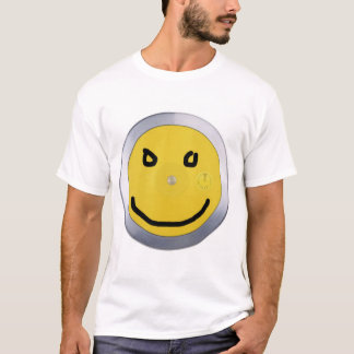 discus, marker smiley T-Shirt