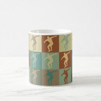 Discus Pop Art Coffee Mug