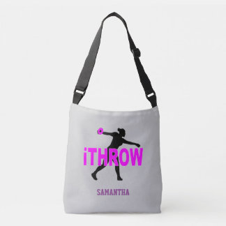 Discus Track Thrower Cross Body Bag