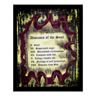 Diseases of The Soul Poster
