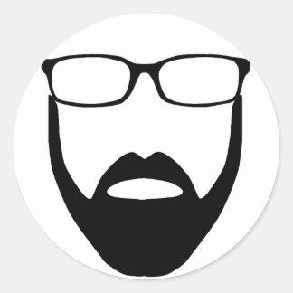 Disembodied Beard Sticker